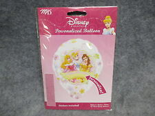 "Disney Princess Personalized Personalize 18"" Foil Happy Brithday Balloon NEW"