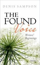 THE FOUND VOICE - SAMPSON, DENIS - NEW HARDCOVER BOOK