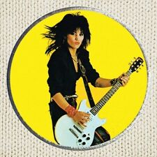 Joan Jett Patch Picture Embroidered Border Band Rock the Blackhearts Runaways