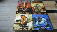 Lot Bd s EO-Le Scorpion(Desberg&Marini)-1 a 4-Jamais lues