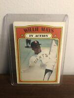 1972 Topps Willie Mays San Francisco Giants #50 Baseball Card