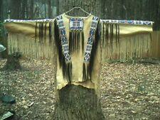 Native American Inspired Beaded Shirt