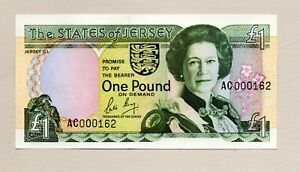 States of Jersey One Pound Note