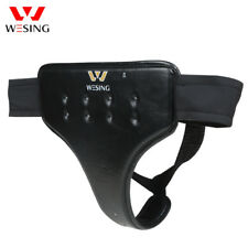 Wesing women groin protectors for Martial arts muay thai boxing MMA PU leather