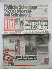 Bild Zeitung vom 28.02.1989,  Mike Tyson, Madonna, Withney Houston