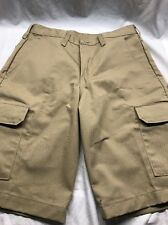 Mens RED KAP Khaki Cargo Shorts Size 30 X 12 PT66KHO New With Tags/free Shipping