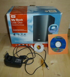 Western Digital WD My Book Live Duo   4 TB   NAS Server   Netzwerkspeicher