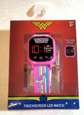 """Brand New """"DC Wonder Woman LED Digital Touch Screen Watch"""" (LED Touchscreen)"""