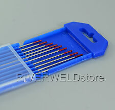 2% Thoriated WT20 Red TIG Welding Tungsten Electrode 1/16