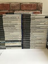 Playstation 2 PS2 Games Bundle Joblot  X37 - Please Read Description