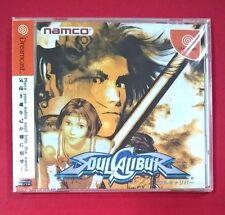 Soul Calibur Sega Dreamcast Namco japones lucha Completisimo y en buen estado