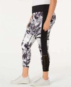 IDEOLOGY PLUS SIZE Printed leggings -Tropical Shadow- 1X