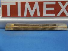 Timex Watch Band 14mm (A) 2 Tn Expansion/Stretch Bracelet Gld/Silv Lds Watchband