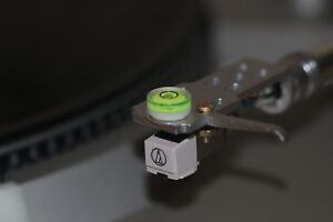 New Azimuth Bubble Level Gauge for Turntable Headshell Tonearm Cartridge