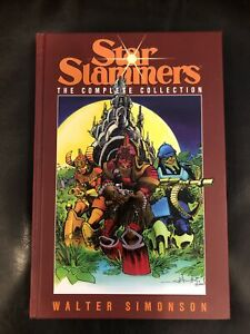 NEW! SIGNED! Star Slammers Walter Simonson The Complete Collection HC Hardcover