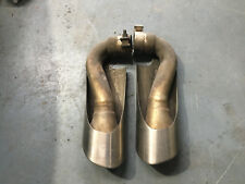 Porsche Cayenne 7L5253681 7L5253682 Exhaust tail pipe tip pair 2x