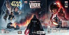 VADER DOWN #1 STAR WARS #13 DARTH VADER #13 HASTINGS VARIANT CONNECTING SET NM