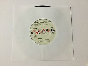 Vinyl Single - Fortress Around Your Heart / Consider me Gone by Sting