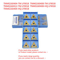 30pcs TNMG160412-TM EG9125 Indexable carbide inserts triangle cutting inserts