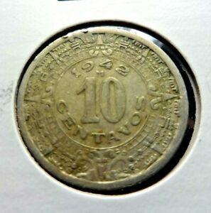 Mexico 1942  10 Centavos   👀