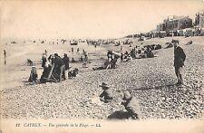 B98387 cayeux vue generale de la plage france