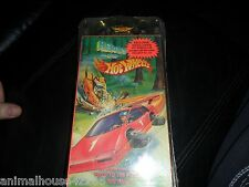HTF BLACK PORSCHE Heroes on Hot Wheels VHS race to the future rally 1991 sealed