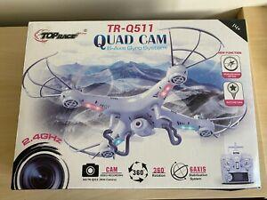 Drone Quad Cam TRQ511 HD Camera & Video Recording.... FOR PARTS