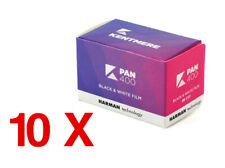 10 X Kentmere  PAN 400 135-36 / Pellicola negativo bianco e nero