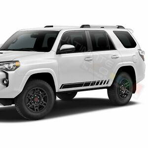 Decal Sticker Stripes Side Door for Toyota 4Runner 2015 2016 2017 2018 2019 2020