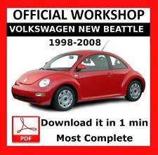 >> OFFICIAL WORKSHOP Manual Service Repair Volkswagen New Beattle 1998 - 2008