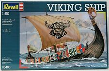 Revell 05403 Plastic Model Kit Viking Ship 1 50
