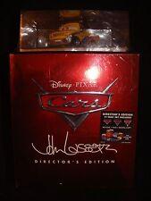 Cars Directors Edition Blu-ray/DVD 3D 11-Disc Set Digital Copy Toons Pixar 2