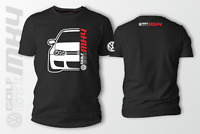 Volkswagen Golf GTI MK4 R32 Car Auto Black T-Shirt 100% Cotton XS-5XL