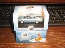 OXFORD DIE-CAST - JAGUAR XJ SALOON - CRYSTAL BLUE - 00 / 1:76