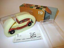 ALFA ROMEO 6c 1750 (1932) BEIGE/ORANGE, Rio in 1:43 Boxed!