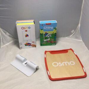 Osmo Genius Kit Learning System iPad Coding Kit Tangrams Drawings No Reflector