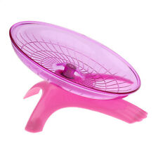 Silent Flying Saucer Running Wheel Exercise Toy for Small Animal Hamster Rat