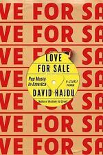 LOVE FOR SALE Hajdu, David Good