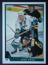 NHL 449 Todd Ewen Mighty Ducks of Anaheim Upper Deck 1993/94