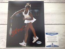 Madison Keys Signed Autographed 8x10 Photo Beckett BAS COA b