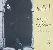 """Julian Lennon – Too Late For Goodbyes / Well I Don't Know ♦ 45T / 7"""" ♦"""