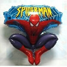 "26"" Marvel Comic Jumping Spiderman Foil Supershape Balloon Kids Party Decoration"