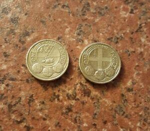£1 COIN CAPITAL CITIES BELFAST & LONDON