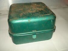 Vintage green backpack camp stove camping small backpacking