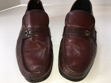 Florsheim Royal Imperial Brown Leather Loafer Slip On Men's 7 1/2 M Dress Shoes