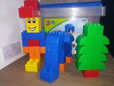 Lego Quatro Bricks Set 5358 Suitable for Ages 1-3 In Original Plastic Tub