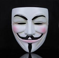 V de VENGANZA Máscara Con Ojos Protección Máscara Guy Fawkes anónimo de Halloween