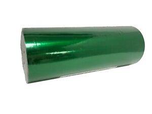 "Jewelry 7.5""  x 150 ft Green Gloss Foil Gift Wrapping Paper Quality Christmas"