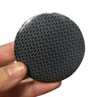 4Pcs 56.5mm Black Gridding Wheel Center Hub Cap Cover Emblem Badge Sticker Decal