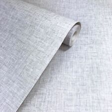 ARTHOUSE LINEN TEXTURED LIGHT GREY QUALITY WALLPAPER 676006